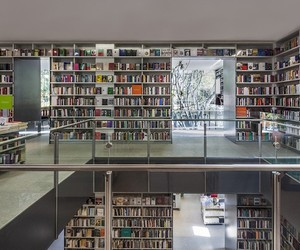 Mexico Home Converted to Cultural Library