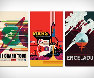 NASA Visions of the Future Posters