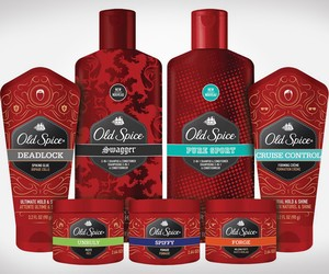Old Spice Hair Product Lineup