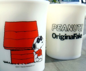 Original Fake x Peanuts 'Joe Kaws' Mug