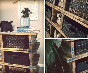 Wood Pallet Dresser Design and DIY