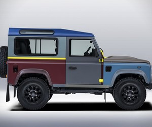 Paul Smith Designs Land Rover Defender