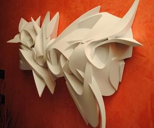 Confidence – 3D Graffiti-Sclupture by Peeta