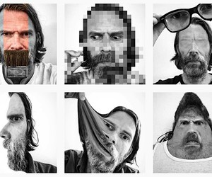 The unusual selfies of Peter Wihlborg