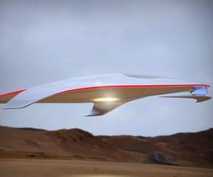 Ferrari Spaceship Concept