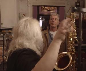 Anthony Bordain Interviews Saxophone Design Legend