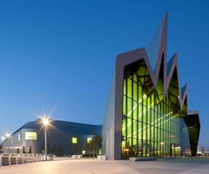 The Riverside Museum of Transport - in Glasgow