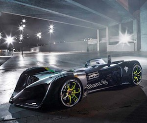 The world's first autonomous electric racing car