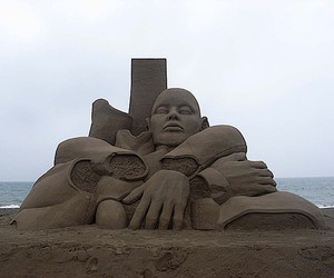The sands sculptures of Toshihiko Hosaka