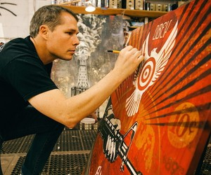 Power & Glory: Shepard Fairey for Halsey Museum