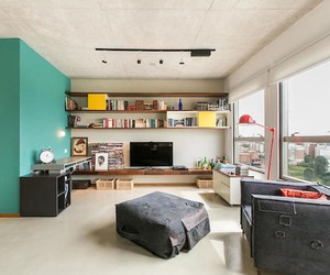 Colorful Sao Paulo Apartment Interior