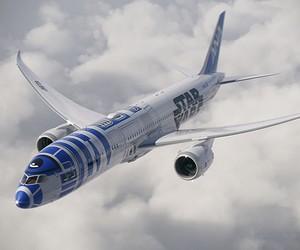Star Wars R2-D2 Jet