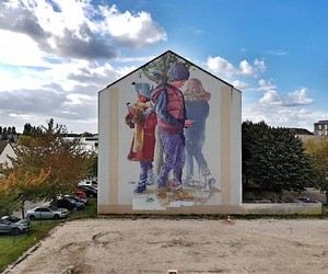 The new Mural of Fintan Magee - play with me!