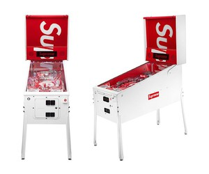 Stern Pinball builds a pinball machine for Supreme