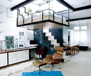 Suspended Bedroom Maximizes Space
