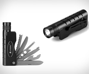 Tactical Flashlight Multitool