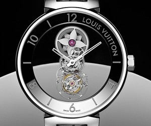 Louis Vuitton presents a transparent watch