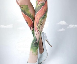 Tattoo Socks for women who are afraid of tattooing