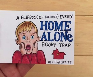 "Flipbook about Kevin ""home alone"""