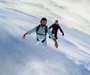 "Watch The Presets' Epic Skydiving Video for ""Fall"""