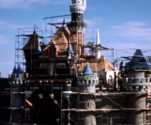 Time-lapse of Disneyland Construction in 1950s