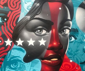 """American Power"" T. Eaton Street art for Woman"