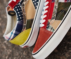 Vans sews shoes from individual scraps