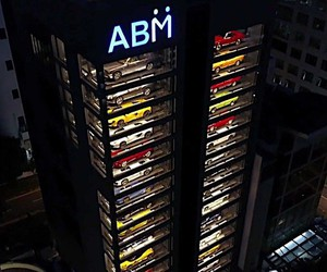 Automat for luxury cars in Singapore