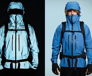 Vollebak Blue Morpho Jacket