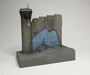 Banksy's Walled Off Hotel has new souvenirs