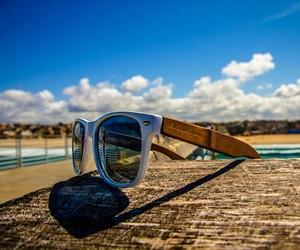Handmade Bamboo Wayfarer Style Sunglasses