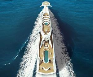 Futuristic Superyacht 190-Meter L'Amage Luxury Con